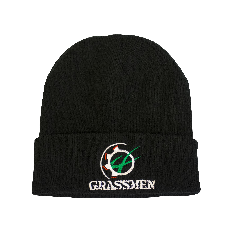51dd13b8a830f HomeGRASSMEN MerchandiseGrassmen Beanie Hat – Black. 🔍. GRASSMEN  Merchandise
